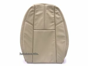 2007 2014 Chevy Tahoe Suburban Leather Seat Cover Driver Backrest Cashmere Tan