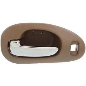 Door Handle For 1999 04 Chrysler 300m With 4 Nuts Chrome Beige Front Left Inner