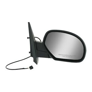 Power Mirror For 2007 2013 Chevrolet Silverado 1500 Right Manual Folding Heated