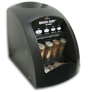 Royal Sovereign Co 1000 Electric 1 Row Coin Sorter Sort s 240 Coins min