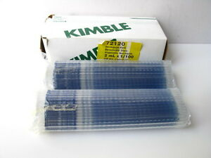 Kimble 72120 Disposable Glass Serological Pipettes 2 Ml X 1 100 248 Pipettes
