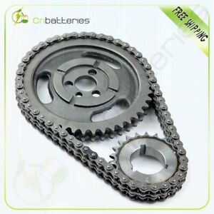 Roller Timing Set For Chevy 350 400 327 305 283 383 262 265 Sbc Sb Chain