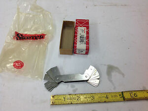 New Starrett 272ma Metric Radius Or Fillet Gauge 75 5mm W inventory Etching