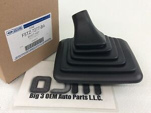 Ford F150 F250 Manual Gear Shift Lever Rubber Boot Cover New Oem F5tz 7277 ba