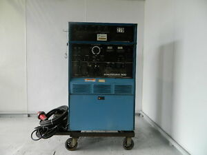 Miller Syncrowave 300 Welder With Ps 1 Programmer And Foot Pedal