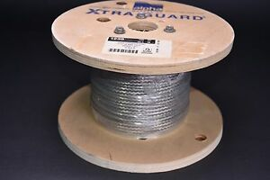 100 Alpha Wire 1235 Sv005 Tinned Copper Braided Grounding Strap 7 Awg