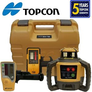 Topcon Model Rl h5a Rotating Laser Level With Bonus T 100 Laser Receiver