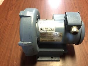 Eg g Rotron Regenerative Blower Dr202y9 Pond Septic Aeration 1 3hp 1ph