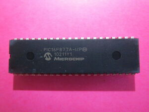 Microchip Pic 16f877a 20mhz New Mcu 25 Pcs Microcontroller Usa Seller Fast Ship