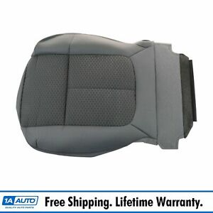 Oem Front Steel Gray Gridlock Cloth Lower Seat Bottom Cover Diver Lh For Pickup