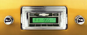 1947 1953 Chevy Truck New Am Fm Stereo Radio Usa 230 200 Watts Auxiliary In