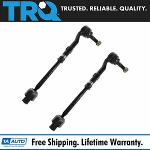 Tie Rod Assembly Inner Outer Front Lh Rh Pair Set Of 2 For 04 10 Bmw 5 Series