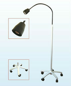 Dental 5w Mobile Led Exam Light Examination Lamp Floor Type Surgical Equipment