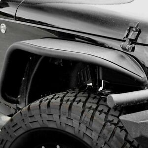 For Jeep Wrangler Jk 2018 Aries 1500201 Front Tubular Fender Flares