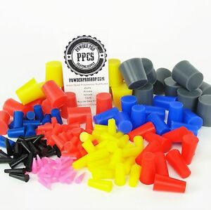 235pc 1 32 To 1 Powder Coating Plug Kit High Temp Silicone Painting