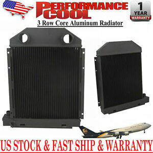 957e8005 Cc957e8005 Tractor Radiator For 57 62 Ford Dexta Super Dexta 3 Rows