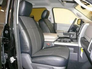 Clazzio Synthetic Leather Seat Covers For Ram Quad Crew Cab Choose Color