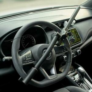 Foldable Vehicle Car Top Mount Steering Wheel Anti Theft Security Lock With Keys