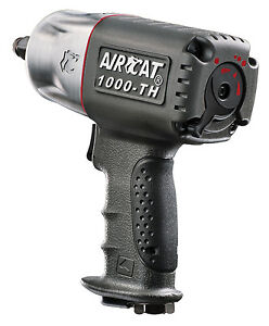 1 2 In Twin Hammer Composite Air Impact Wrench Aircat 1000th Aca