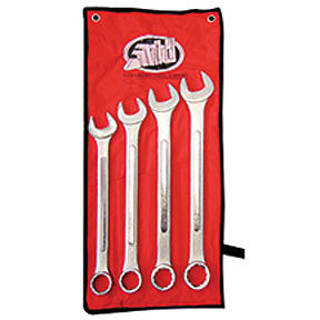 Jumbo Sae Combination Wrench Set 4 Pc Atd Tools 1005 Atd