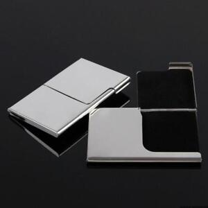 Personalized Driver Id Credit Card Holder Matte Steel Protect Case Wallet Purse