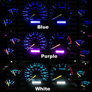 Led Kit For Ford Mustang 94 95 96 97 98 1994 1998 Instrument Cluster Gauge