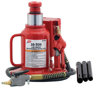 20 Ton Low Profile Air Hydraulic Bottle Jack Atd Tools 7372 Atd