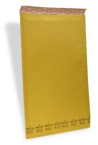 50 7 14 5x20 X wide Ecolite Usa Kraft Bubble Mailers Envelopes Theboxery