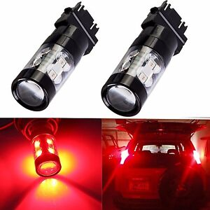 Jdm Astar 2pc High Power 50w 12v Led Bulbs For Gmc Turn Signal Brake Tail Lights