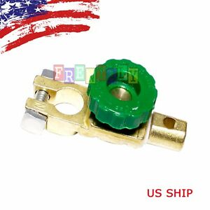 Car Boat Battery Terminal Quick Cut On Off Disconnect Master Kill Shut Switch