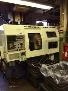 Fuji Tn 25tl Robocell Cnc Lathe Turning Center With Fanuc Otc Control
