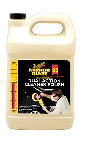 Dual Action Cleaner Polish 1 Gallon Meguiar S M8301 Mgl