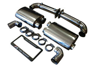 Porsche 997 1 Turbo Twin Turbo 07 09 Top Speed Pro 1 Exhaust Systems