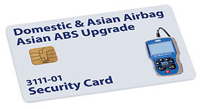 Domestic Asian Airbag Asian Abs Upgrade Security Card Otc Tools Equipment