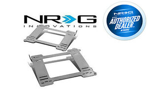 Nrg Stainless Steel Seat Brackets L r For Honda Civic 92 95 Eg Ej sbk hd01