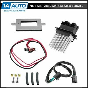 Heater Blower Motor Resistor W Atc For 99 04 Jeep Cherokee Grand