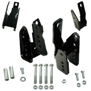 Upr 2018 Ford 2005 14 Mustang Lower Control Arm Relocation Bracket Kit Brace