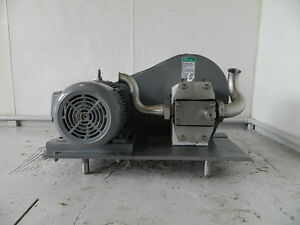 7 5 Hp Apv Crepaco Positive Displacement Pump Model R4ts