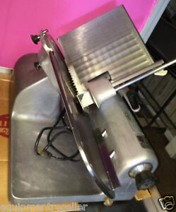 Hobart 1612 Deli Meat Slicer With Sharpener Ready To Slice Your Meat Used