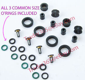 Fuel Injector Service Repair Kit For Honda Acura 4 Cyl O Rings Grommets Filters