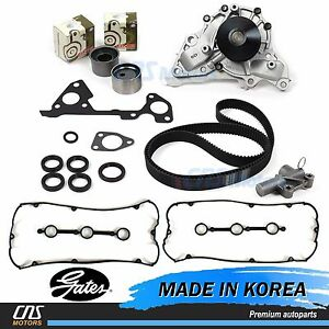Timing Belt Kit Hydraulic Tensioner Water Pump Valve Cover For 03 06 Kia Sorento