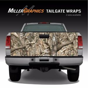Camo obliteration Truck Tailgate Vinyl Graphic Decal Wrap