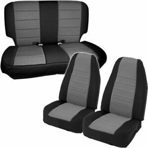 Smittybilt New Seat Covers Set Front Jeep Wrangler 1997 2002