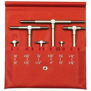 Mitutoyo Telescoping Gage Sets 155 903 Range 5 16 6 Satin Chrome 6 Pcs