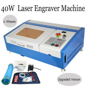 Upgrade W Wheels 40w Usb Co2 Laser Engraving Cutting Machine Engraver