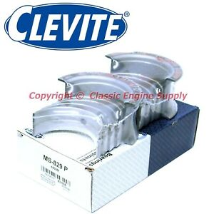 New Set Of Clevite Standard Size Main Bearings 396 402 427 454 Chevy Bb Ms829p
