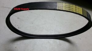 New Holland 467 Haybine Mower Conditioner Double V Drive Belt Oem 137203