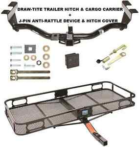 Trailer Hitch Cargo Basket Carrier Silent Pin Lock Tow For 2000 06 Mazda Mpv