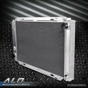 Performance Aluminum Radiator For Ford Mustang 1979 1993 Mt at