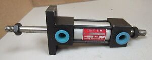 New Tiny Tim Air Pnuematic Cylinder Dtfr 3 4 Bore 1 Stroke 5 16 Shaft Diam